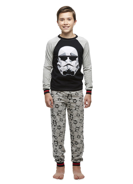 Star Wars Darth Vader Boys Grey Fleece Bathrobe