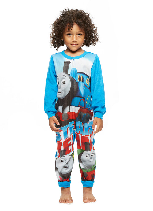 Thomas & Friends Onesie Jersey & Fleece Pajamas