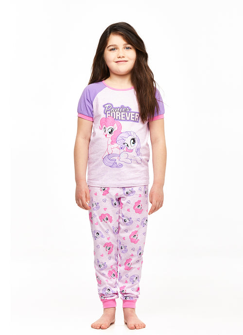 My Little Pony Ponies Forever Girls 2-Piece Pajama Set
