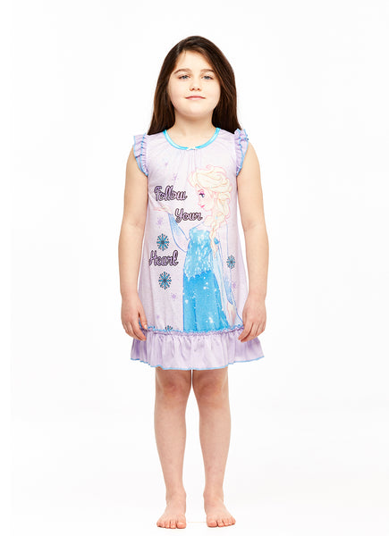 Girls Short Sleeve Nightgown, Frozen, by Jellifish Kids