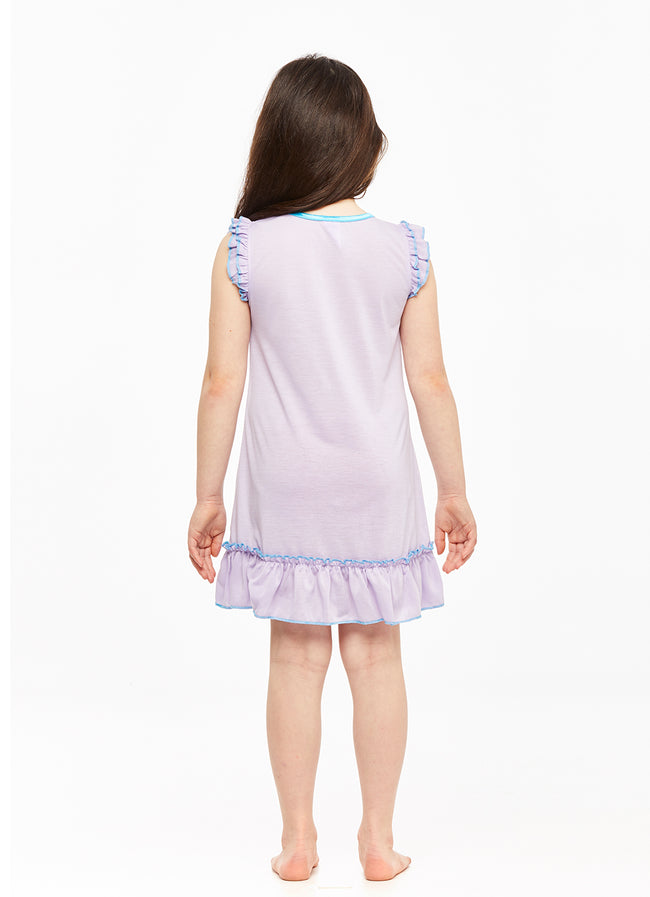 Girls Short Sleeve Nightgown, Frozen