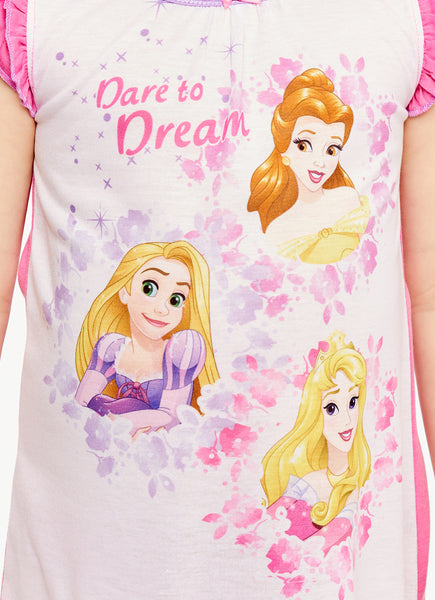 Disney Princess Girls Pink Nightgown