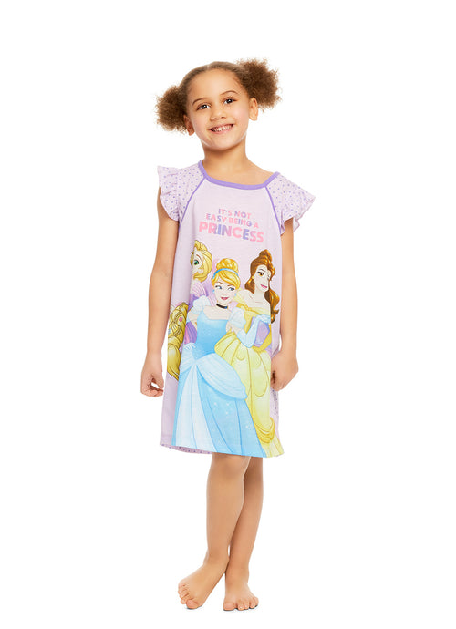 Disney Princess Girls Purple Nightgown