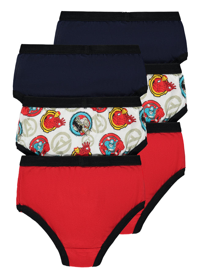Avengers Boys Briefs | 6-Pack Boys Underwear
