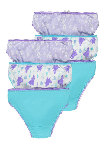 Disney Frozen 2 Girls Briefs | 6-Pack Girls Underwear