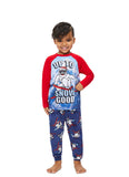 Boys 2-Piece Pajama Set | Red Yeti Sublimation Print Sleep Top, Yeti Pant