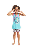 Girls Pajama Set Summer