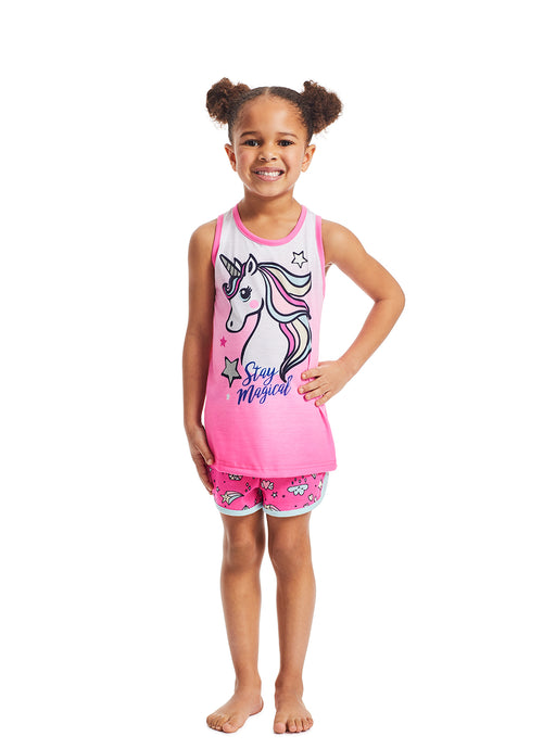 Unicorn Girls Pajama Set