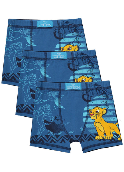 Lion King Boys Boxers | 3-Pack Boys Underwear