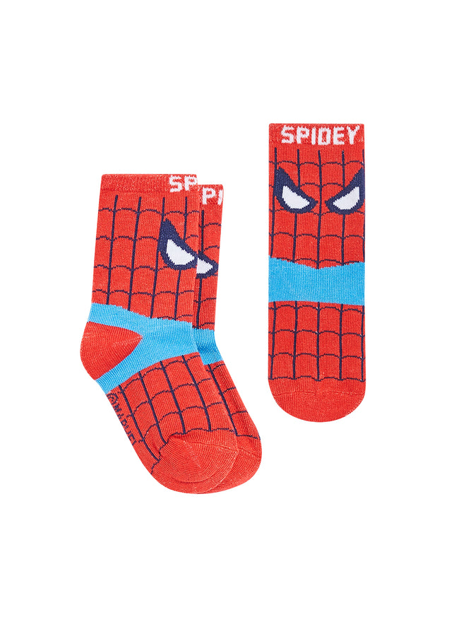 Spider-Man Comics Infant Boys Socks | 12-Pack Crew Socks