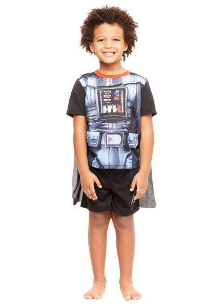 Star Wars Darth Vader Boys 2-Piece Pajamas With Cape
