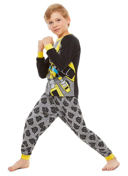 Transformers Boys Sleepwear | Cotton Kids 2-Piece Pajama Set