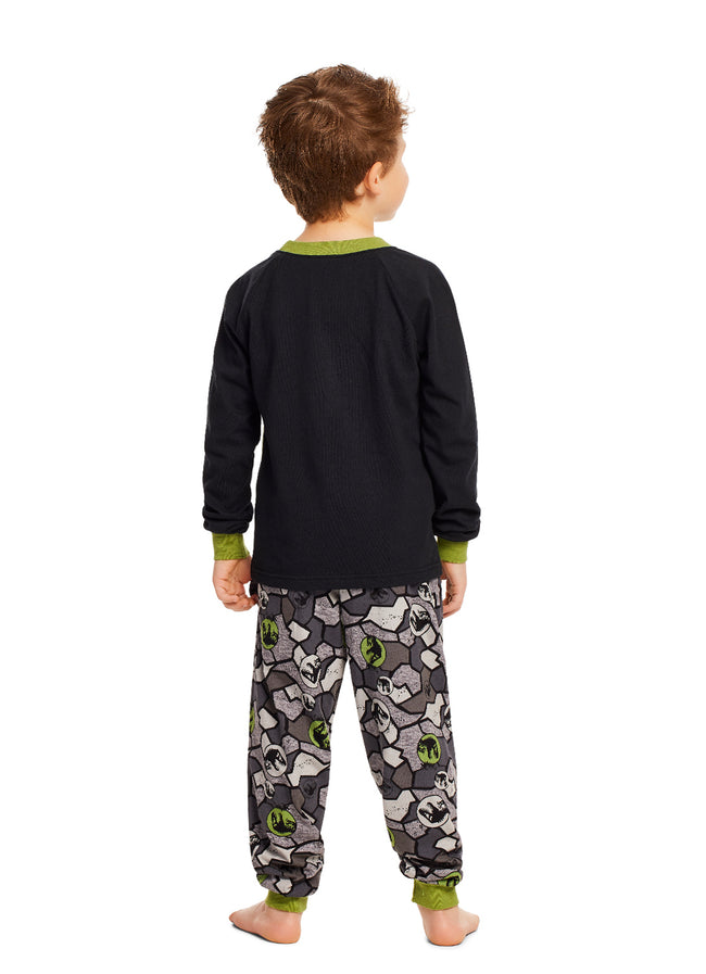 Jurassic World T-Rex Boys Cotton 2-Piece Pajama Set