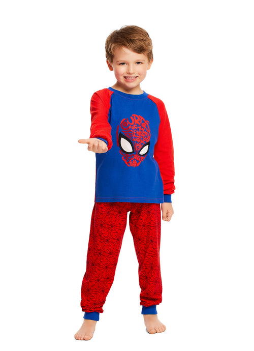 Spider-Man Children Sleepwear | Cotton Boys 2-Piece Pajama Set