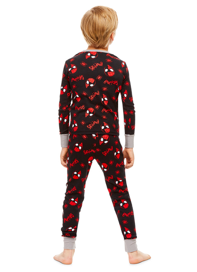 Spider-Man Character Boys Sleepwear | Cotton Kids 2-Piece Pajamas