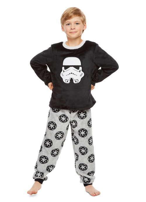 Star Wars Stormtrooper Boys Fleece 2-Piece Pajama Set