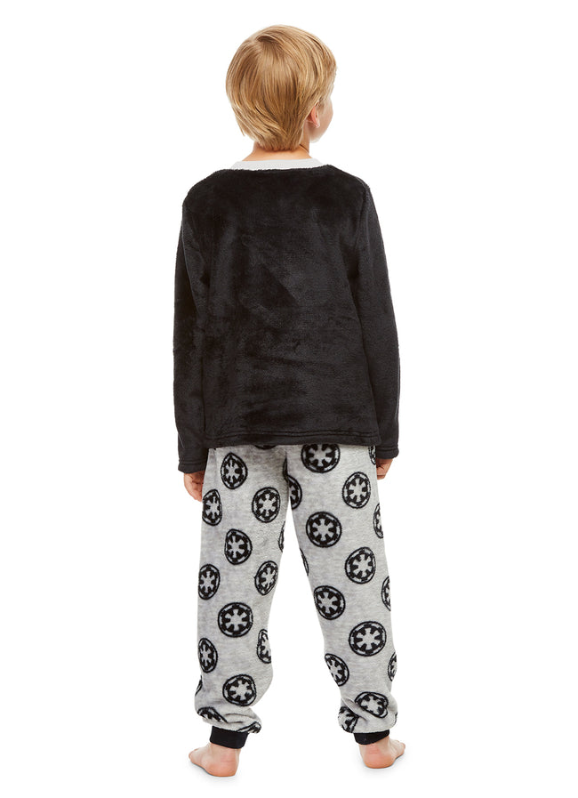 Star Wars Stormtrooper Boys Sleepwear | Fleece Kids 2-Piece Pajama Set