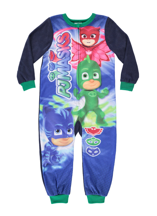 PJ Masks Boys Onesie Jersey & Fleece Pajamas