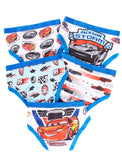 Cars 3 Briefs For Boys | Pack of 5 Underwear For Toddlers & Kids