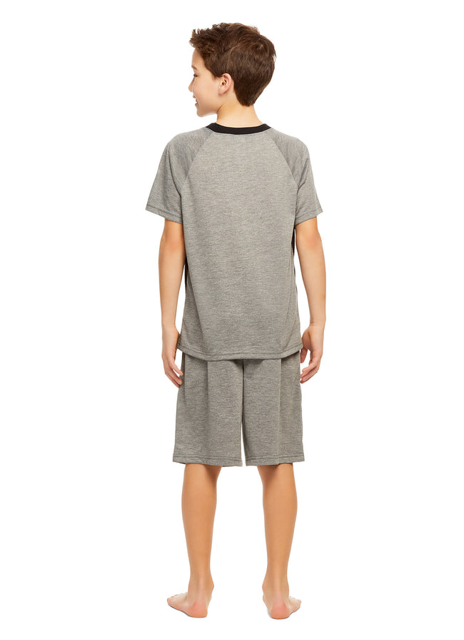 Boys 2-Piece Pajamas (Avengers Iron Man, Black Panther)