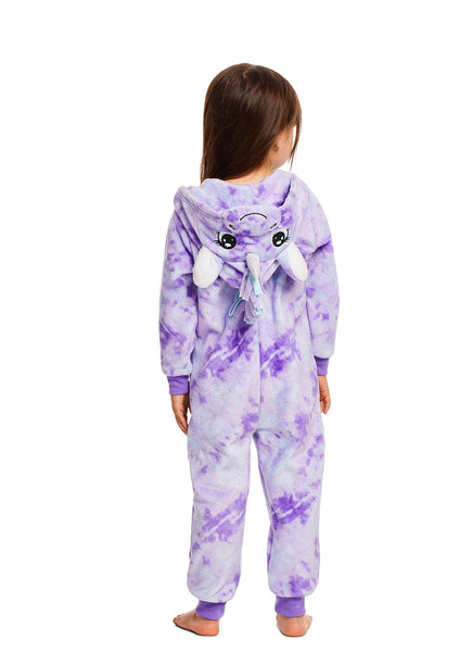 Plush Zippered Unicorn Kids Onesie Blanket Sleeper