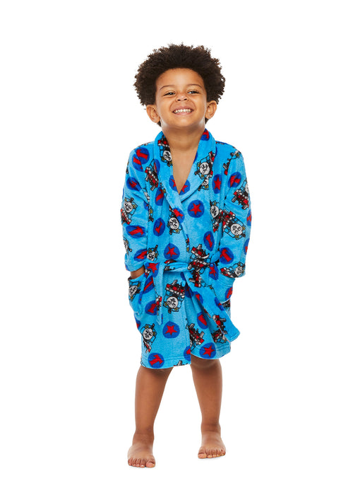 Thomas & Friends Toddler Boys Bathrobe Fleece Sleepwear