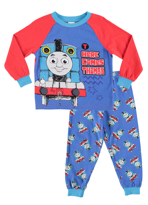 Thomas & Friends Toddlers Sleepwear | Cotton Boys 2-Piece Pajama Set