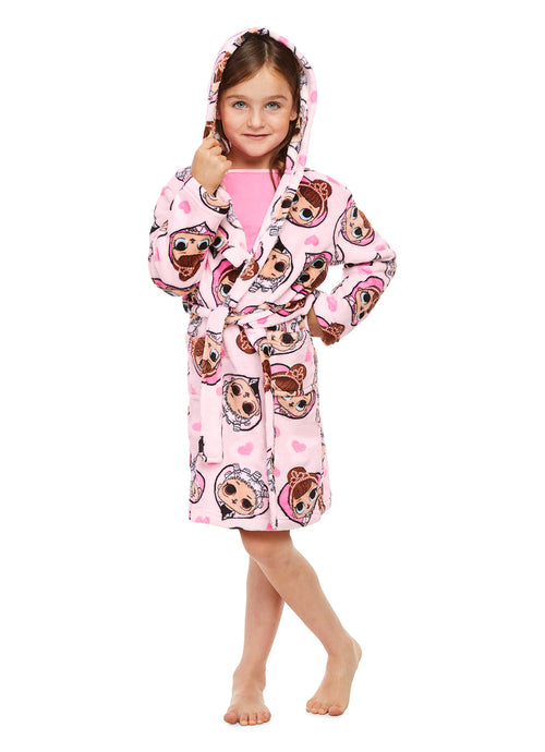Lol Surprise Girls Sleep Robe (Pink)