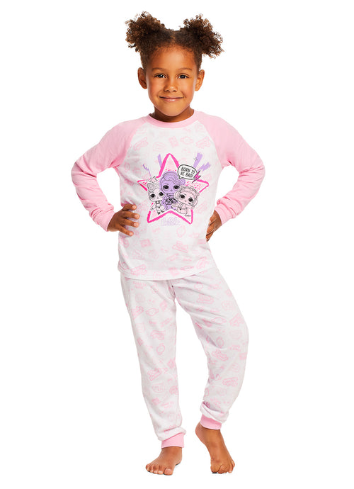 LOL Surprise Pajamas for Girls | 2-Piece Sleepwear | Girls PJ Set
