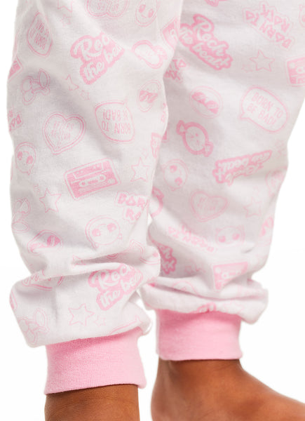 LOL Surprise Girls Cotton Pink 2-Piece Pajama Set