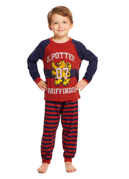 Harry Potter Children Sleepwear | Cotton Boys 2-Piece Pajama Set