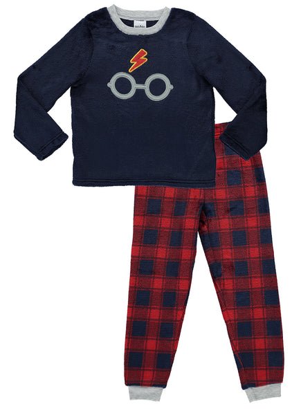 Harry Potter Boys Pajamas Fleece 2-Piece PJ Set