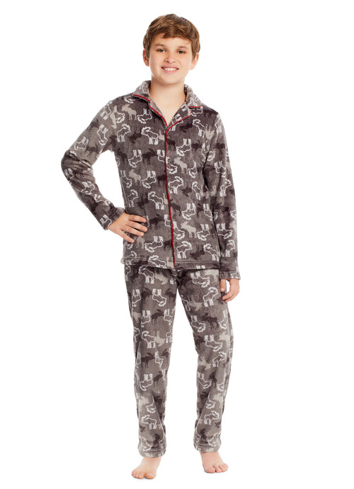 Boys 2 Piece Pajama Set (Moose)