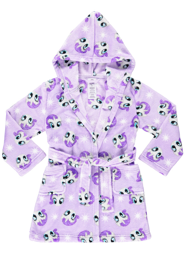 My Little Pony Girls Robe Purple Rarity Sleepwear