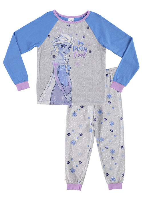Disney Frozen Pajamas for Girls | 2-Piece Sleepwear | Cotton PJ Set