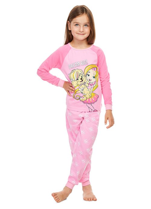 Sunny Days Pajamas for Girls | 2-Piece Sleepwear | Cotton PJ Set