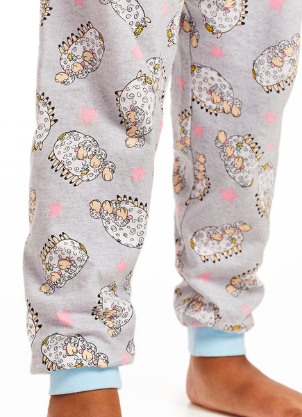 Toy Story 4 Little Bo-Peep & Jessie Girls Pajamas Set