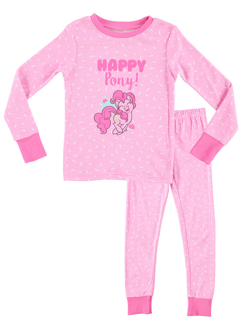 My Little Pony Girls Pajamas | Cotton PJs For Kids | Cute Pink Sleepwear