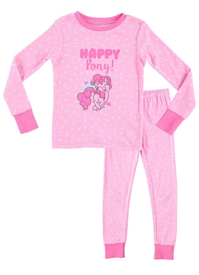 My Little Pony PJs Happy Pony Girls Pink Pajamas Set