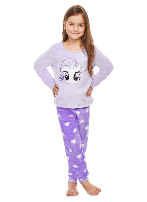 My Little Pony 2-Piece Pajama Set | Adorable Fleece Pajamas For Girls
