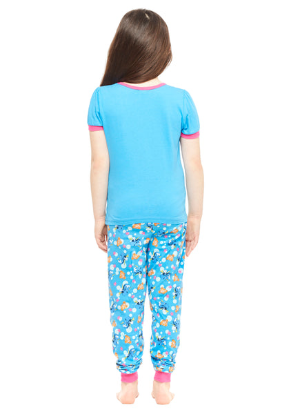 Finding Dory Girls 2-Piece Cotton Pajama Set,Top & Jogger Pants