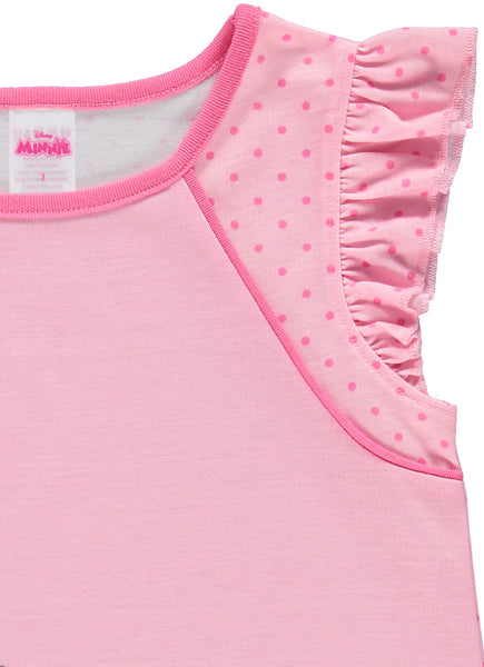 PJ for Girls, Disney Minnie Mouse Soft & Comfortable Nightgown.