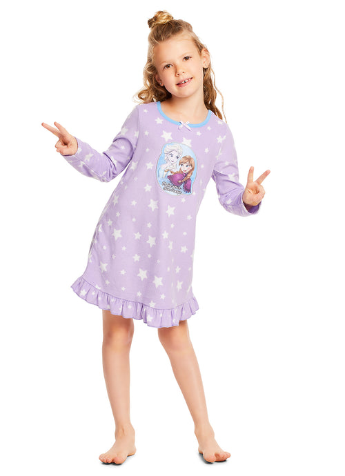 Disney Frozen Nightgown For Girls (Purple)