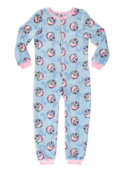 My Little Pony Girls Onesie Rainbow Dash Fleece Pajamas