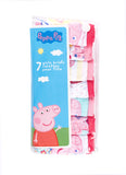 Peppa Pig Girls Underwear | Pack of 7 Briefs For Toddlers