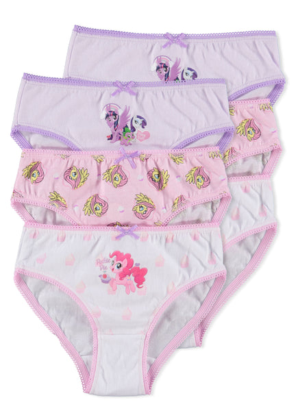 My Little Pony Girls Underwear (Briefs 6-Pack)