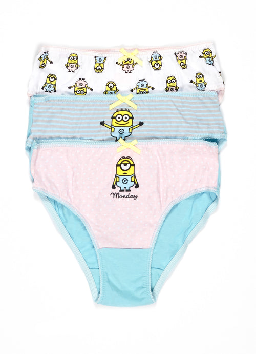 Despicable Me 3 Girls Underwear 3-Pack, by Jellifish Kids