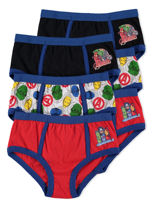 Avengers Boys Underwear | Briefs 6-Pack