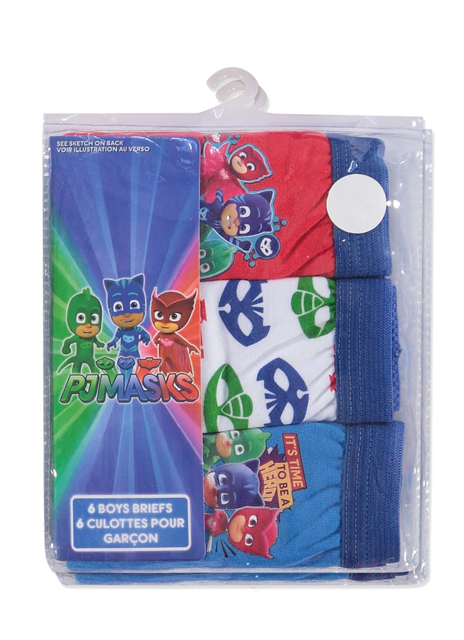 PJ Masks Boys Underwear | Briefs 6-Pack