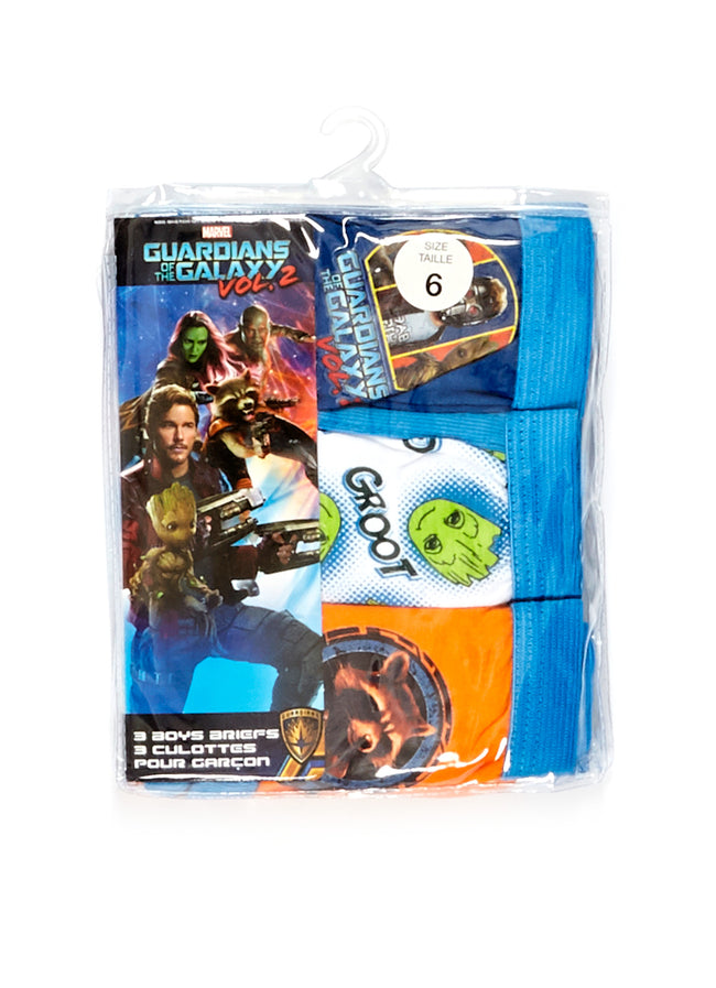 Guardians of the Galaxy 2 Boys Underwear 3-Pack, by Jellifish Kids